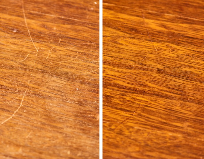 Before and After Surfaces Rx Repair