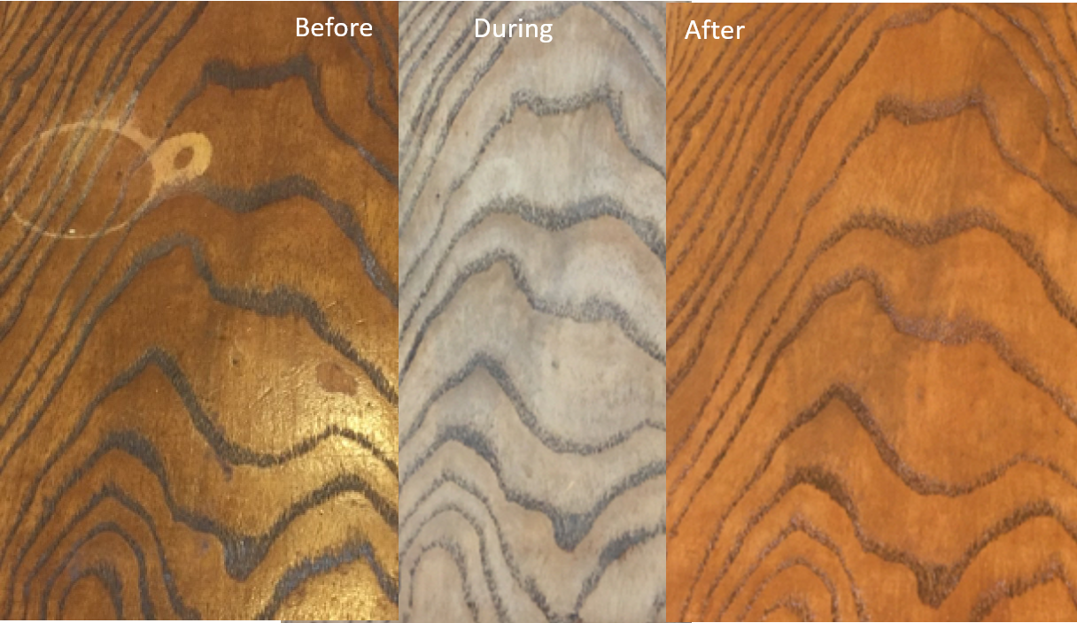 Before-During-After-Surfaces-Rx-Wood-Chest-Refinishing