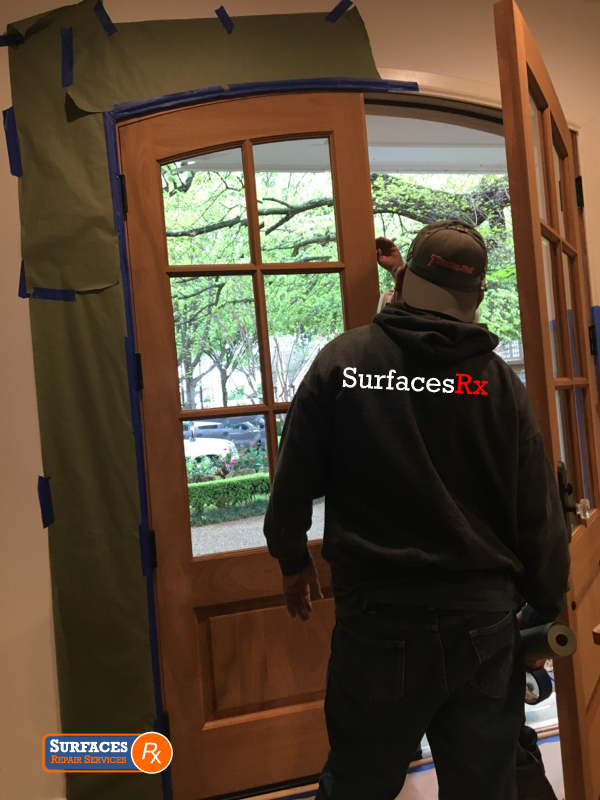 Surfaces Rx Door Refinishing
