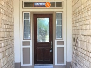 Single Front Door Refinishing Dallas TX