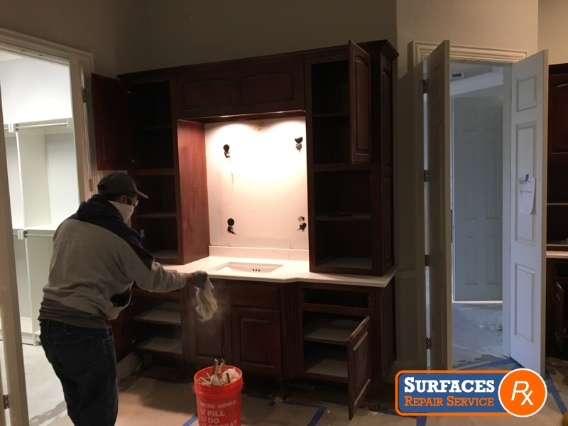 Preparing-Master-Bath-for-Surfaces-Rx-Repairs-and-Refresh