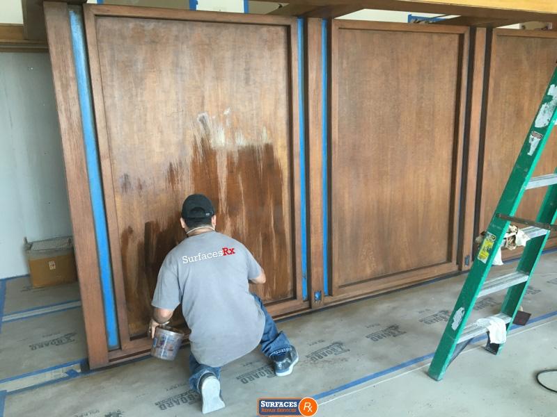 Surfaces Rx Refinishing Millwork Dallas High Rise Condo
