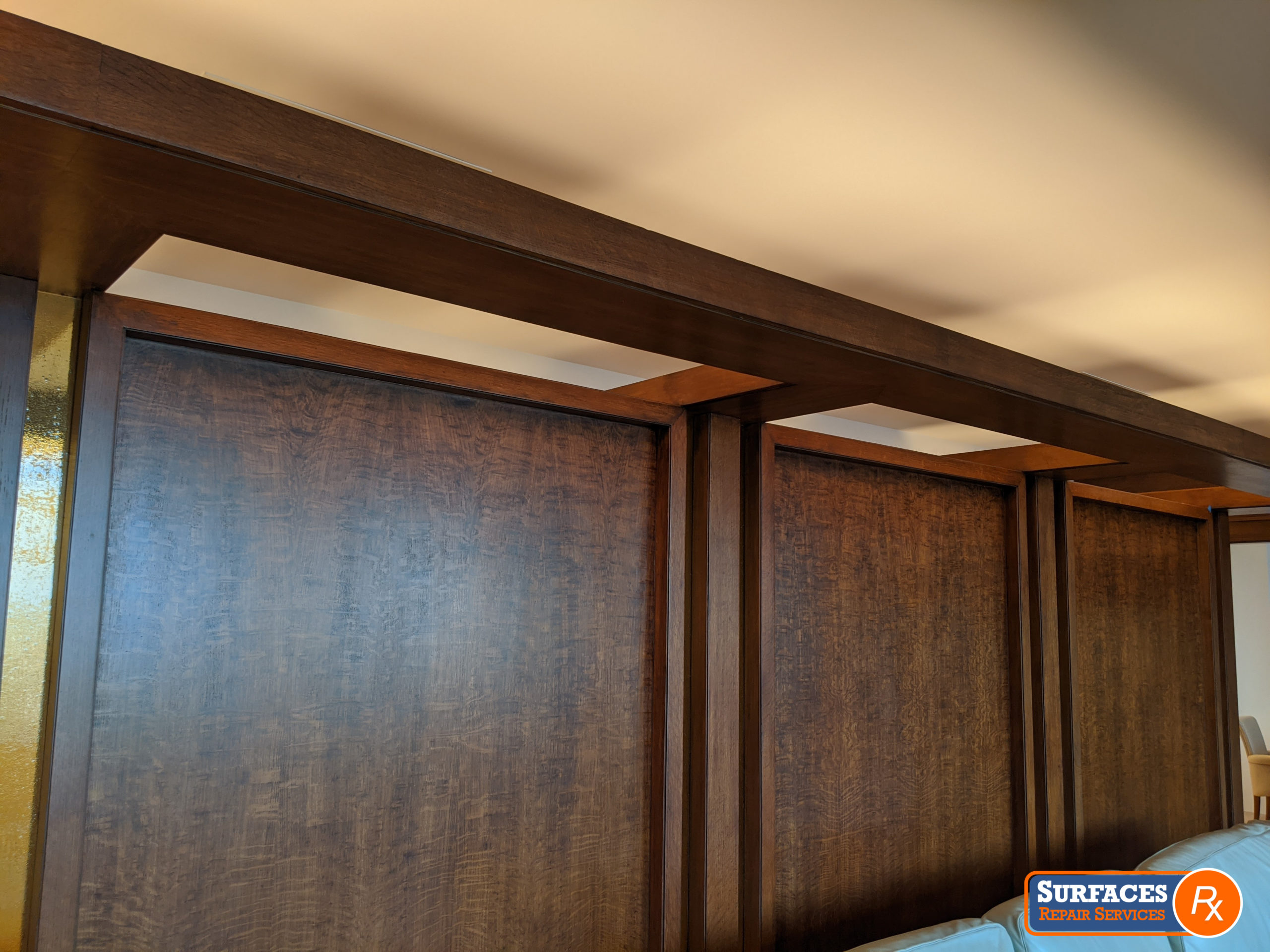 Dallas Millwork Refinishing by Surfaces Rx