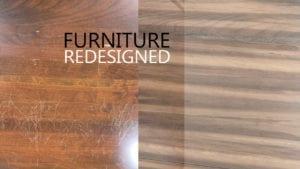 Dallas Furniture Redesign Cherry To Walnut Grain Finish