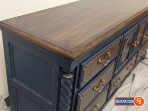 9-Drawer Alexander Julian -Refinished Dresser for Sale