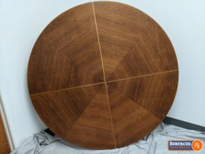 Restored Heritage-Henredon Mid-Century Coffee Table Restoration For Sale Dallas Texas