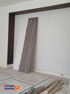 New Wood Veneer Frames Before Finishing