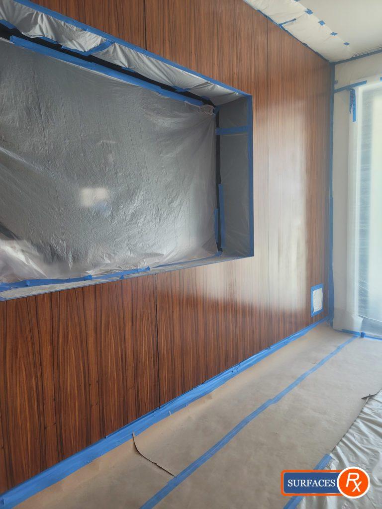 Professional Finishing the wall panels